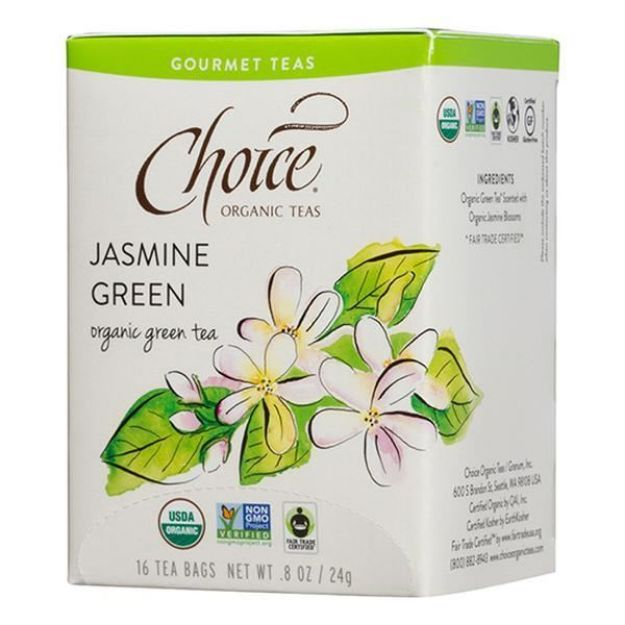 Jasmine Green Gourmet Tea (16 tea bags - Choice Teas)
