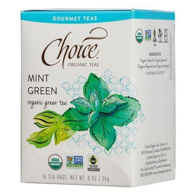 Mint Green Gourmet Tea (16 tea bags - Choice Teas)