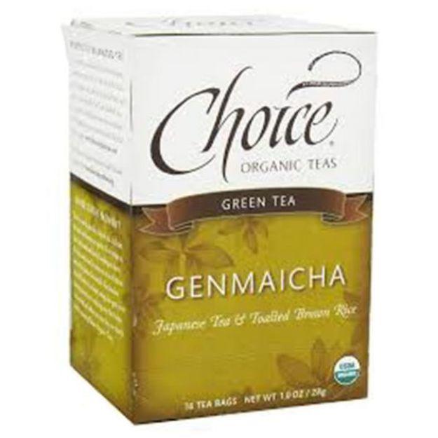 Genmaicha Tea (16 tea bags - Choice Teas)