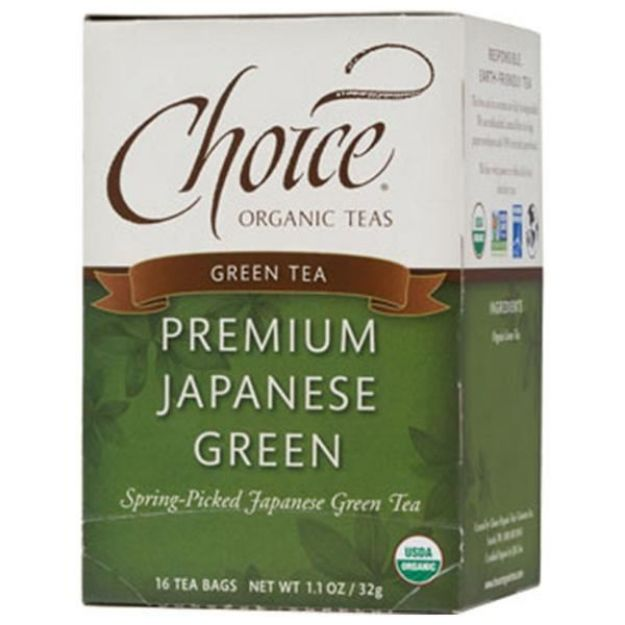 Premium Japanese Green Tea (16 tea bags - Choice Teas)