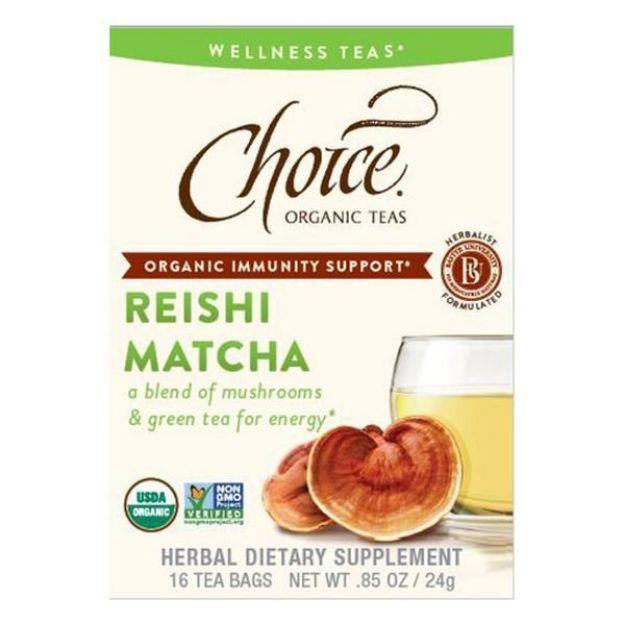 Reishi Matcha Tea (16 tea bags - Choice Teas)