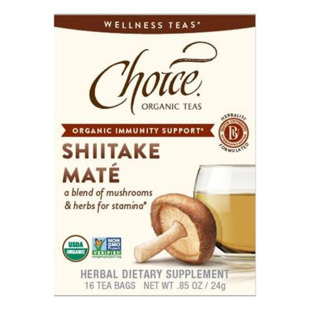 Shiitake Mate Tea (16 tea bags - Choice Teas)