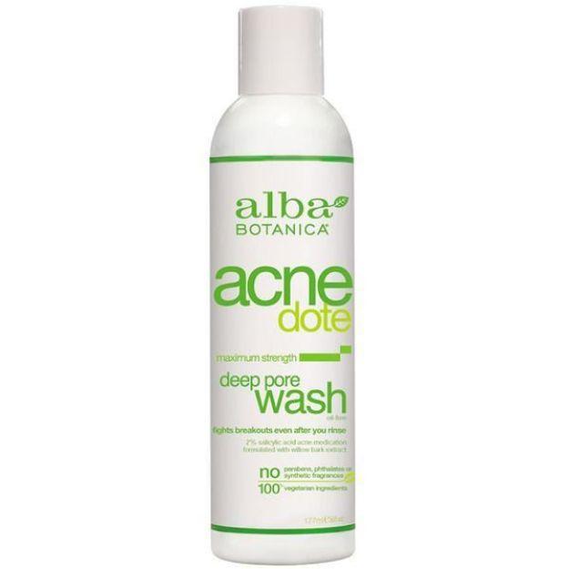Acnedote Deep Pore Wash (6 oz., Alba Botanica)