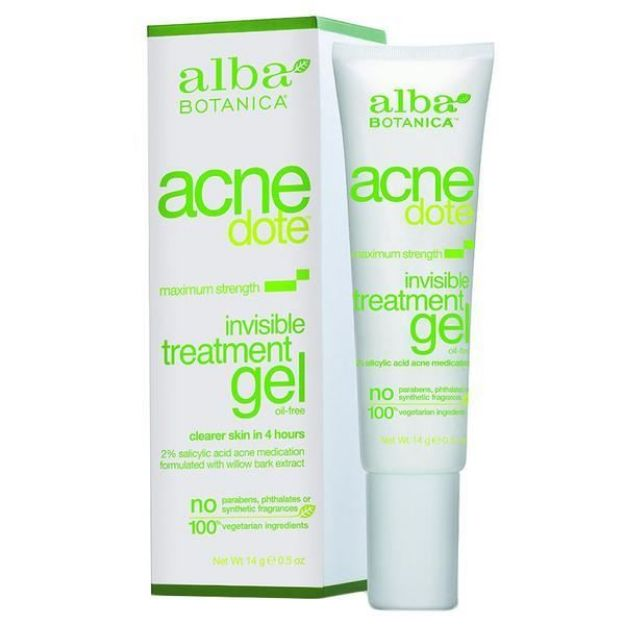 Acnedote Invisible Treatment Gel (0.5 oz., Alba Botanica)