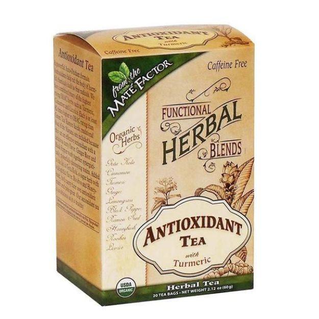 Antioxidant Turmeric Tea Bags (Maté Factor)