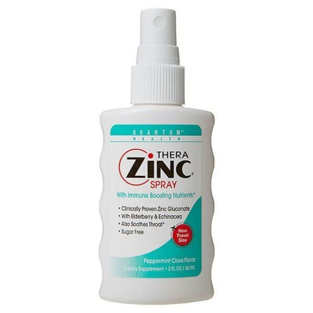 Zinc Spray (2 fl oz, Quantum Health)