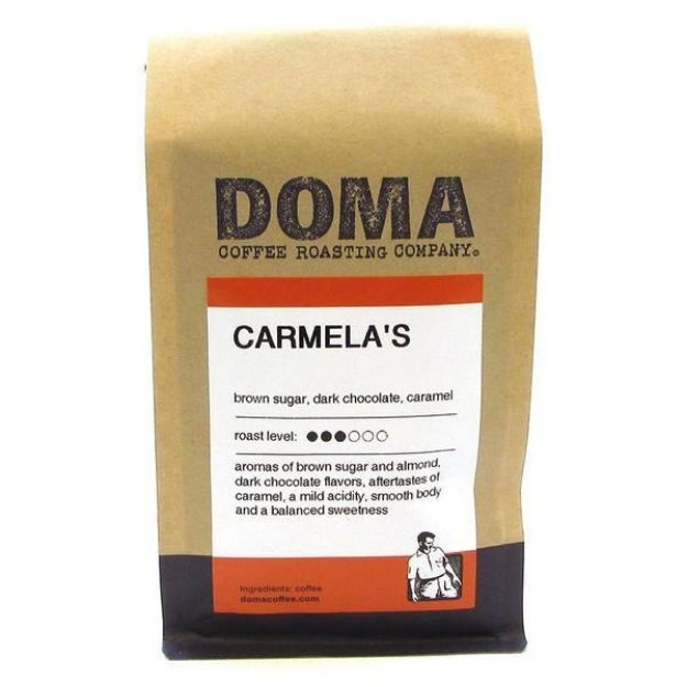 Carmela's Blend Whole Bean Coffee (12 oz., DOMA Coffee Roasting Company)