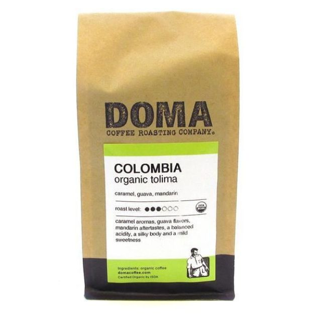 Colombia Whole Bean Coffee (12 oz., DOMA Coffee Roasting Company)