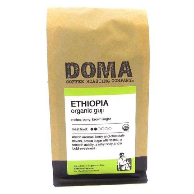 Ethiopia Organic Guji Whole Bean Coffee (12 oz., DOMA Coffee Roasting Company)