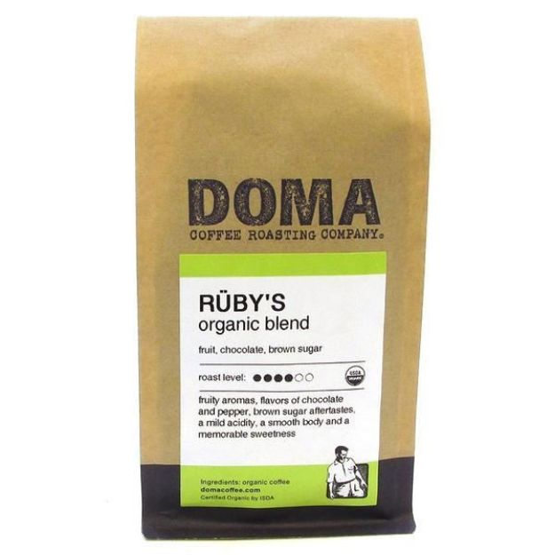 Ruby's Espresso Whole Bean Coffee (12 oz., DOMA Coffee Roasting Company)