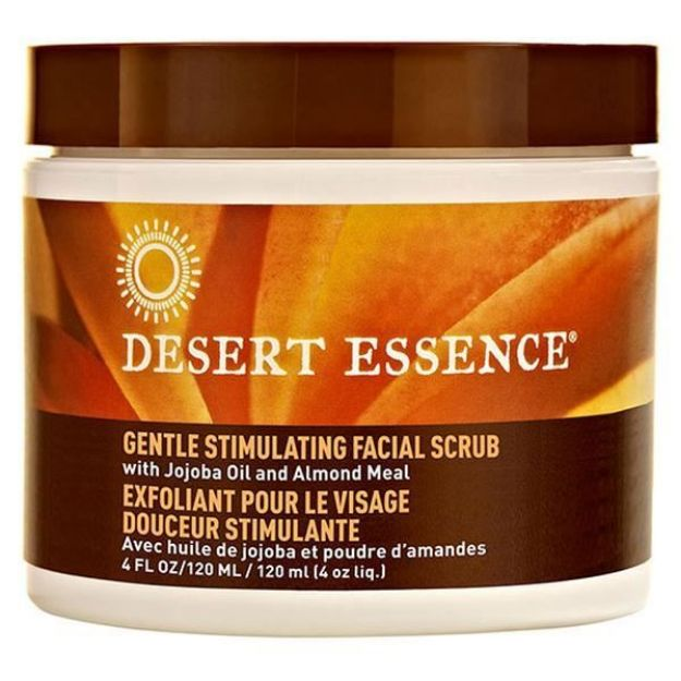 Facial Scrub with Jojoba and Almond (4 fl. oz., Desert Essence)