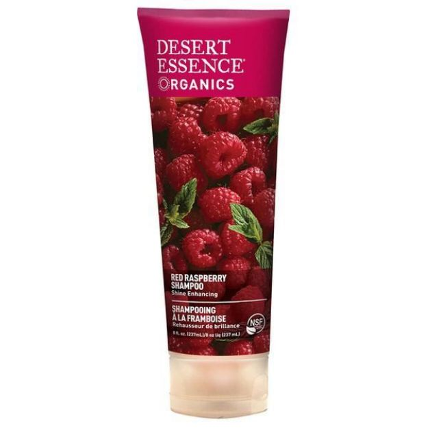 Shampoo - Red Raspberry - For Shine (8 fl. oz., Desert Essence)