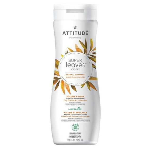 Shampoo - Soy Protein & Cranberries - Volume & Shine (16 fl. oz., Attitude)