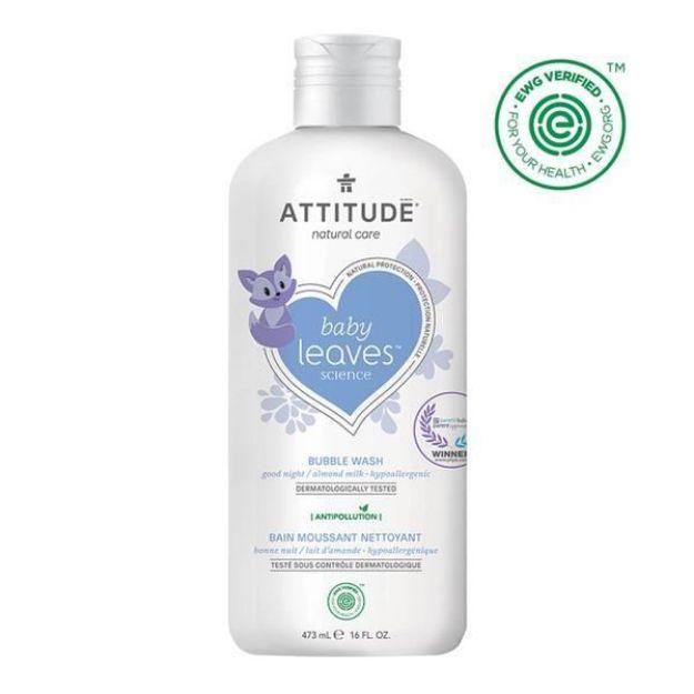 Baby Bubble Wash - Almond Milk (16 fl. oz., Attitude)