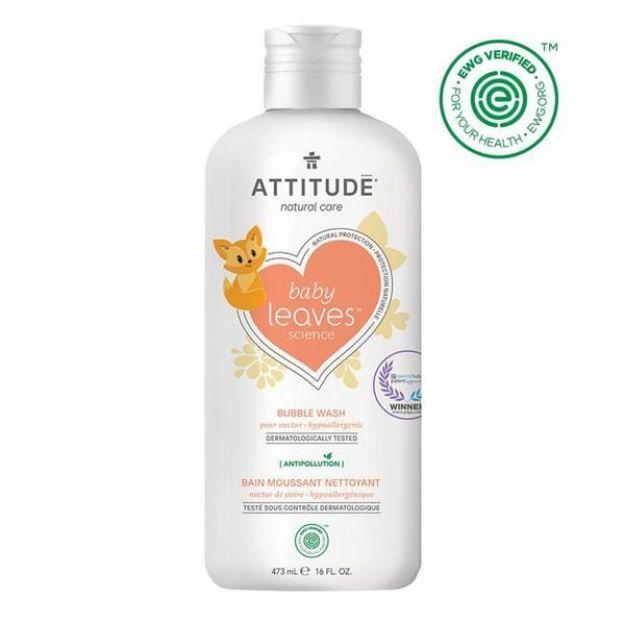 Baby Bubble Wash - Pear Nectar (16 fl. oz., Attitude)