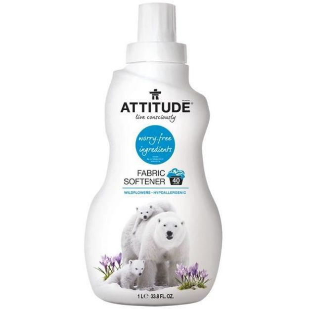 Fabric Softener - Wild Flowers (33.8 fl. oz., Attitude)