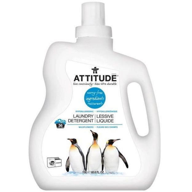 Laundry Liquid - 2X - Wild Flowers (60.8 fl. oz., Attitude)
