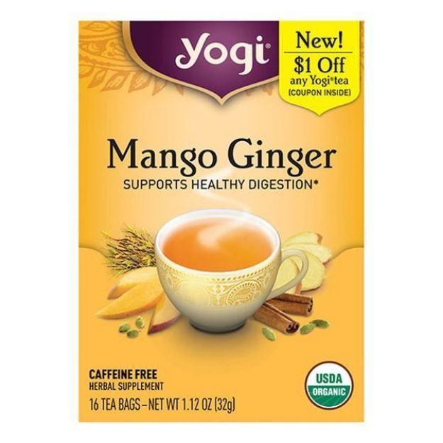 Mango Ginger - Supports Healthy Digestion (Yogi®)