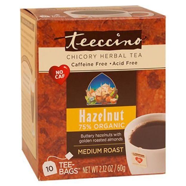 Hazelnut Chicory Herbal Tea (10 bags, Teeccino)