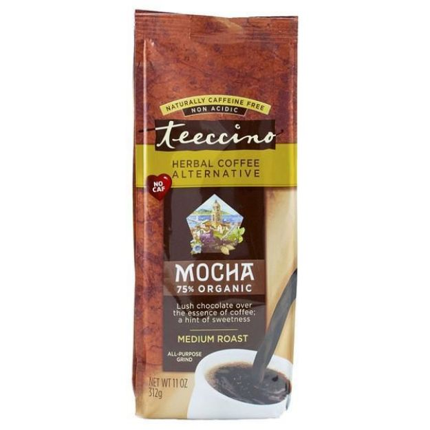 Mocha Herbal Coffee (11 oz, Teeccino)